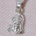 Silver Pendant Shiva