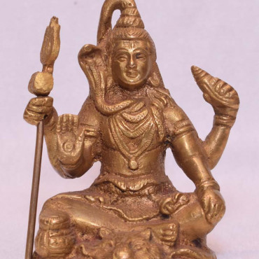 Brass Shiv Ji Medium