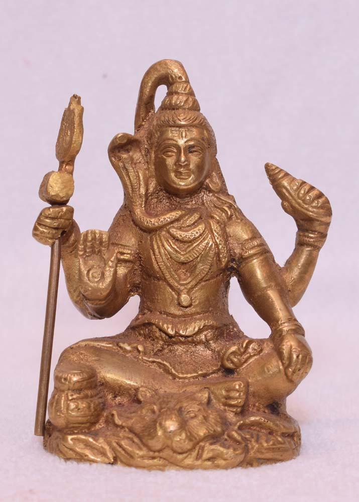Brass Shiv Ji Medium