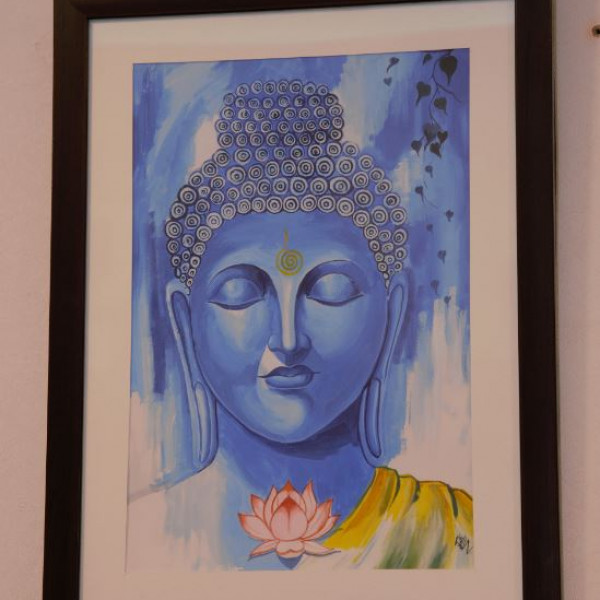 Buddha Oil on Canvas