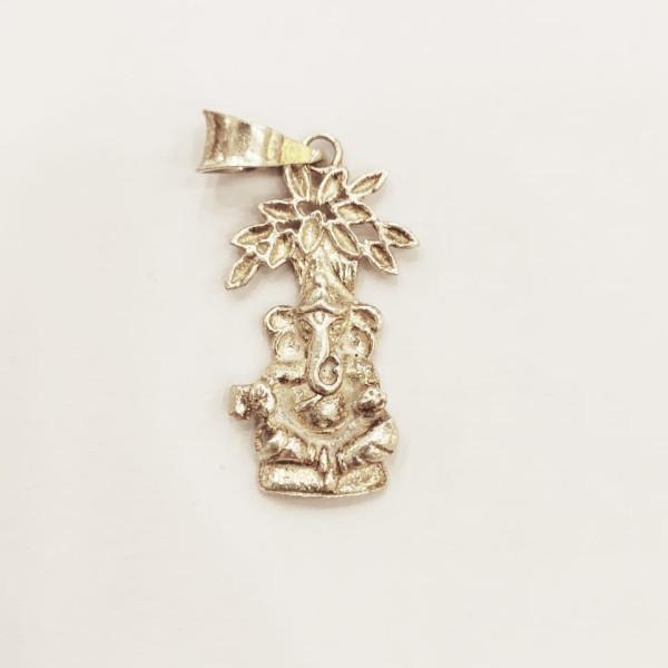 Silver Pendant Ganesh Ji