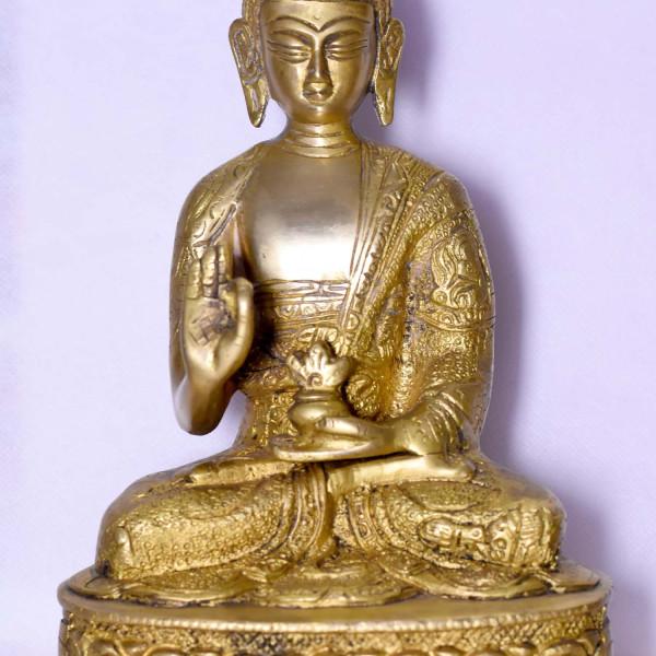 Brass Buddha Small