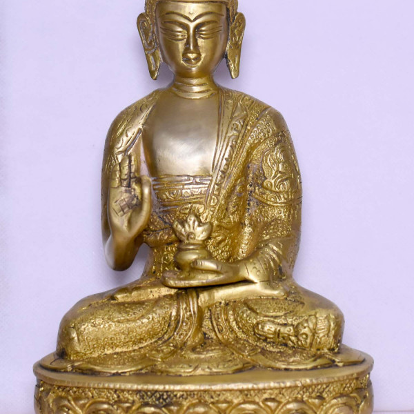 Brass Big Buddha